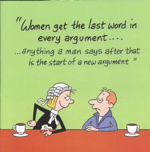 Men Are Wrong Funny Card TW528